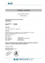 ESD Zertifikat 2019