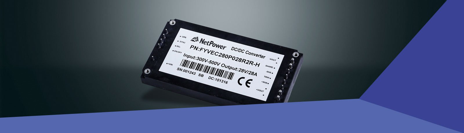 NetPower – Rugged DC/DC Converters