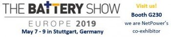 The Battery Show 2019: May 07 - 09