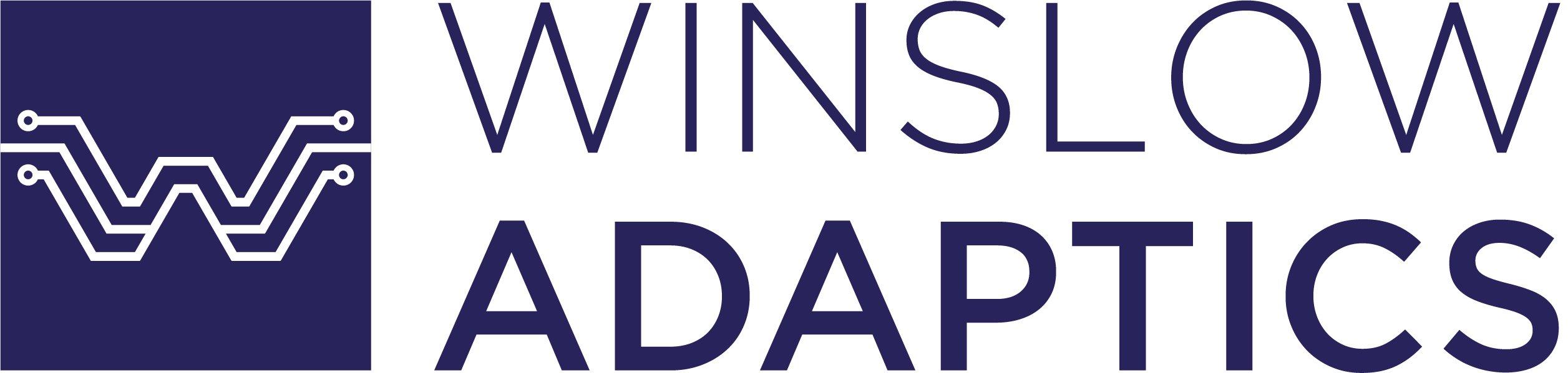 Winslow boxed horizontal logo