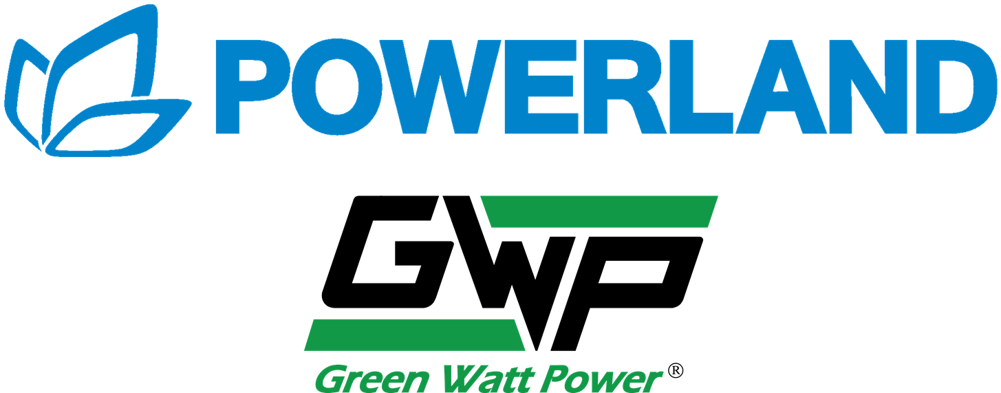 Powerland GWP combined BLUE Logo